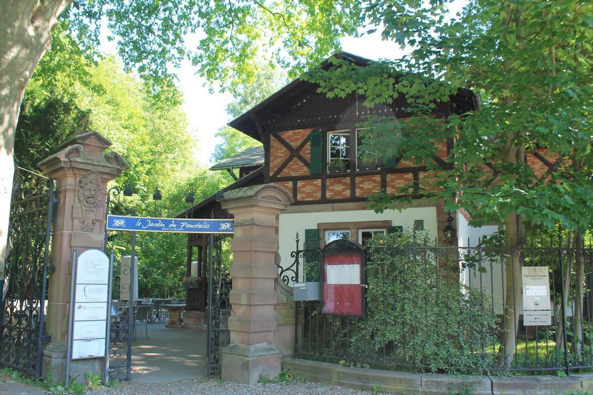 Restaurant le jardin du pourtal s for Le jardin des fleurs strasbourg