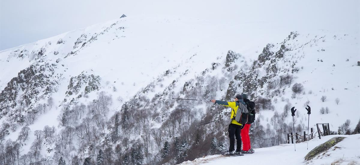 site de ski du Gaschney - Vallée de Munster - Alsace - Photo Schweitzer