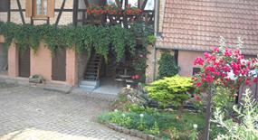 Meublé de M. Leininger, Alsace, vue extérieure