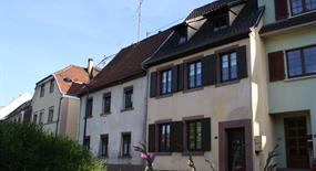 Meublé de Mme Gambs, Alsace, vue extérieure