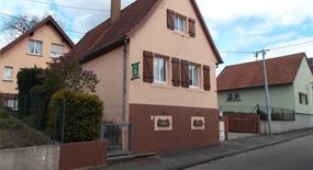 Meublé de M. Mahler, Alsace, vue extérieure