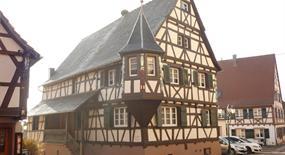 Meublé de M. Spindler, Alsace, vue extérieure