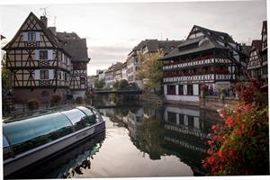 image - Batorama, kommentierte Schiffsrundfahrten durch Straßburg auf dem Fluß Ill