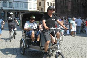 image - Cyclorama Strasbourg - Promenades en vélo-calèche