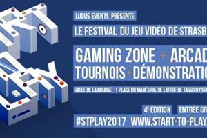 image - Start To Play 2017 – Le Festival du Jeu Vidéo de Strasbourg