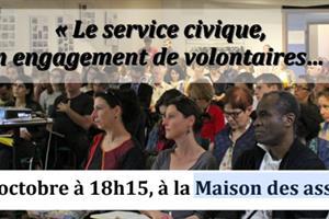 image - Le service civique, un engagement de volontaires...