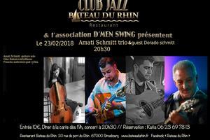 image - Amati Schmitt trio + guest Dorado Schmitt