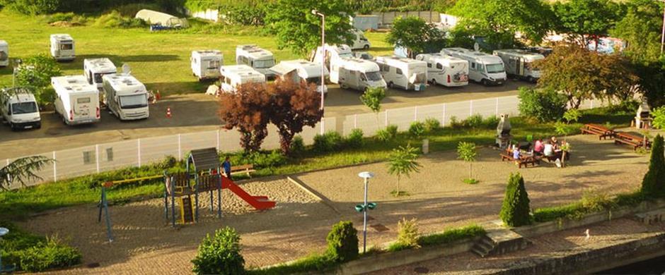 Aire de stationnement de camping cars port de plaisance - Aire de stationnement camping car port la nouvelle ...