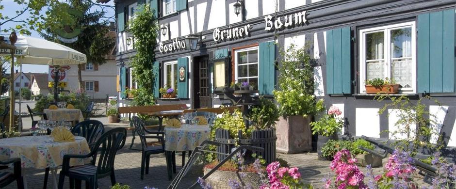 Hotel Restaurant Gruner Baum Linx