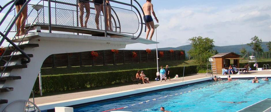 Freibad for Piscine niederbronn