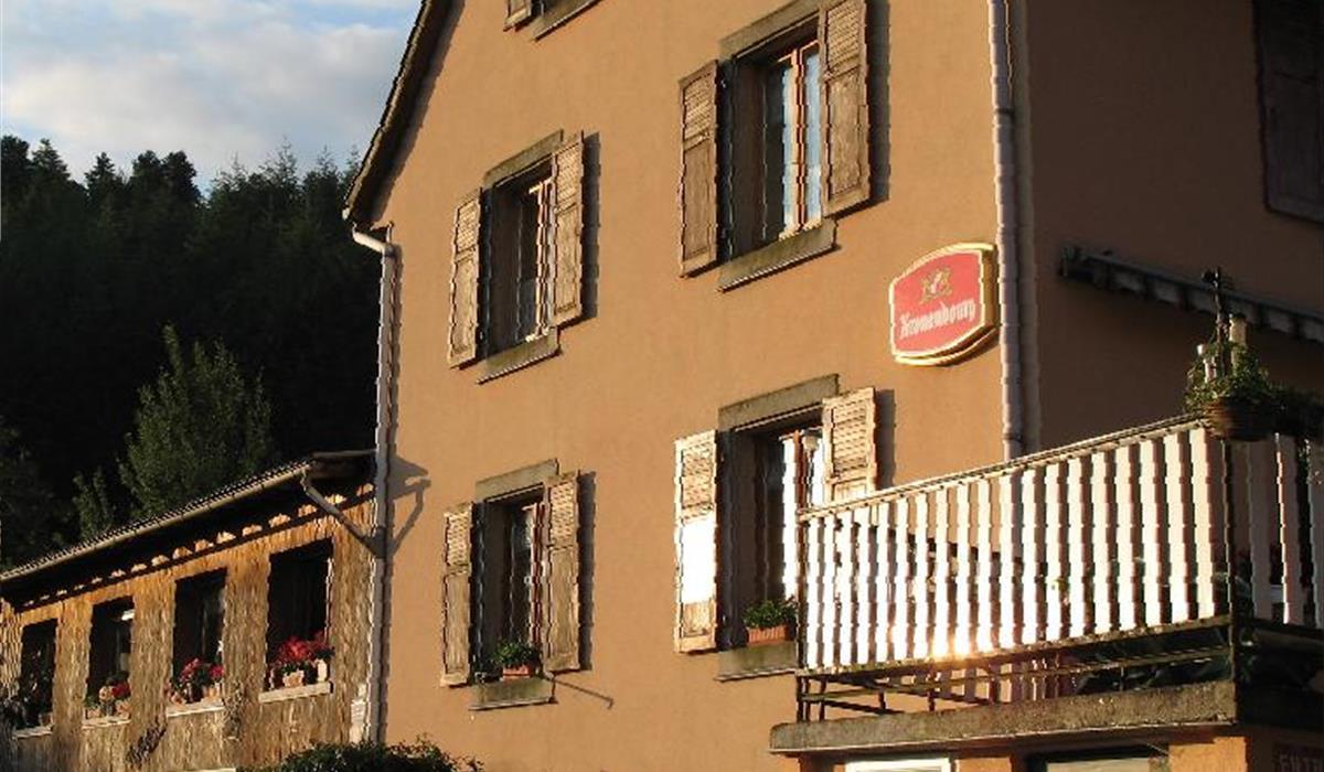 Ferme traditionnelle du Geisbach - Vallée de Munster - Alsace