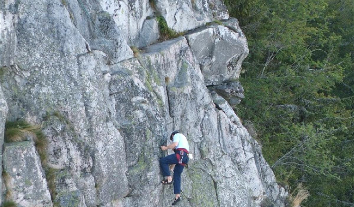 Le rocher du Tanet - Photo A. Heinrich