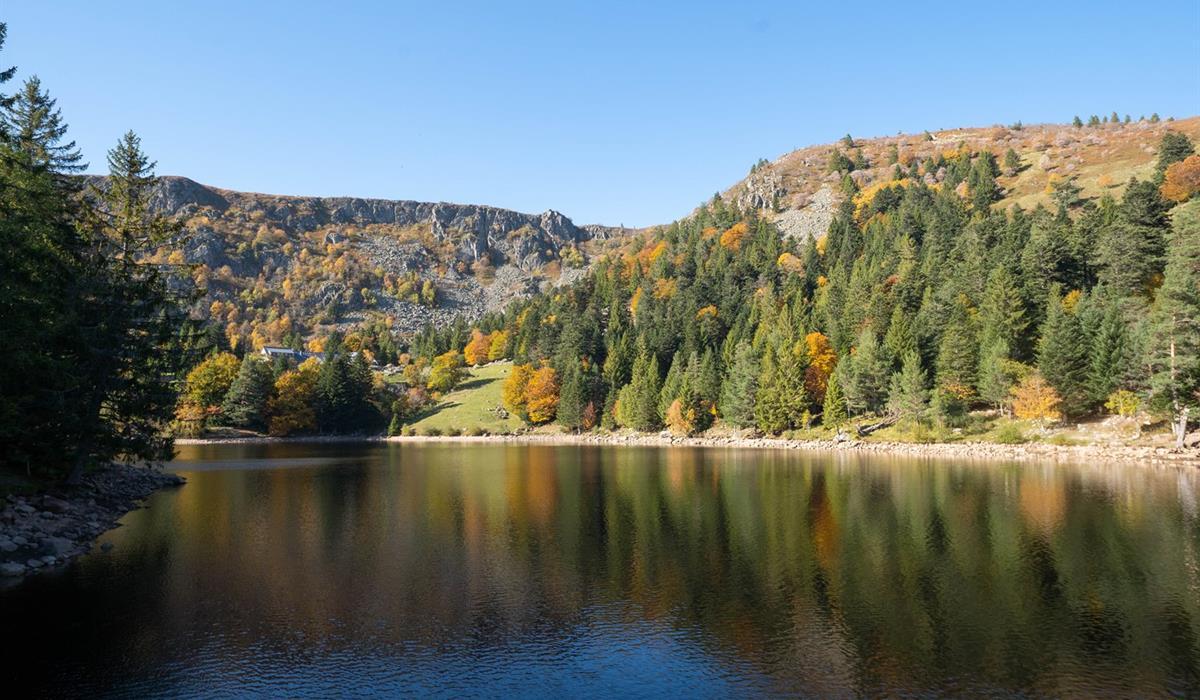 Lac du Forlet - Vallée de Munster - Alsace