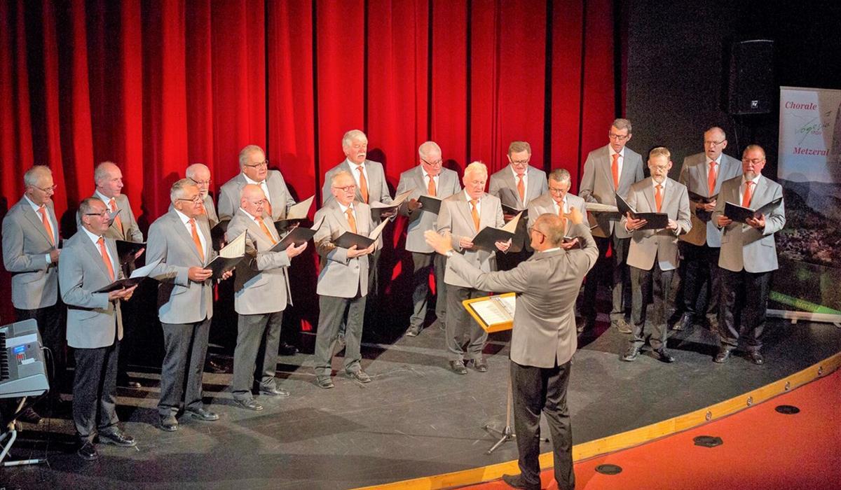 Chorale VOGESIA 1850 de Metzeral