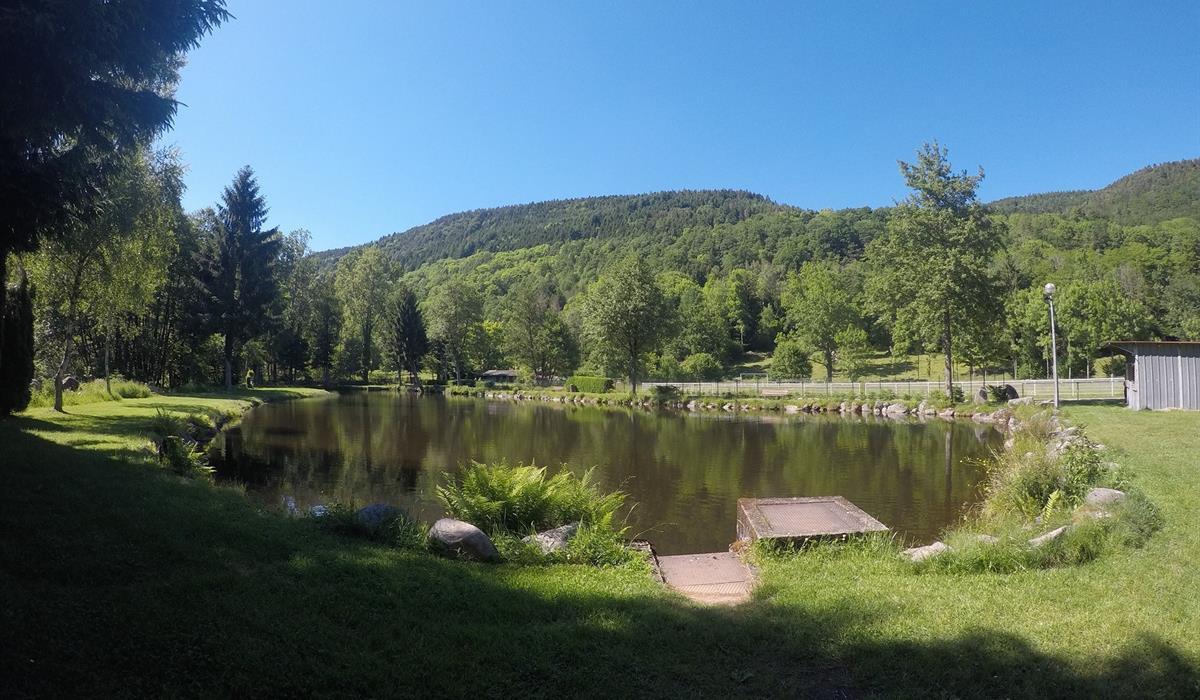 Pêche à l'étang de Stosswihr - Vallée de Munster