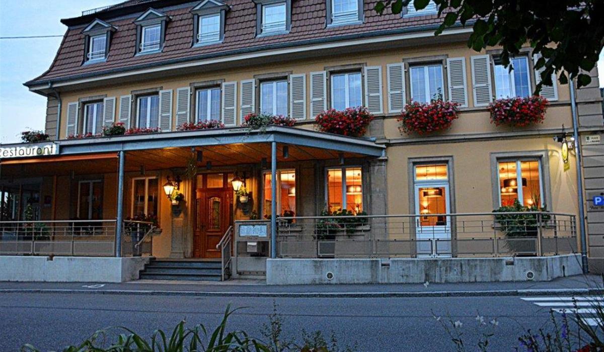 Hôtel - Restaurant Le Soleil d'Or