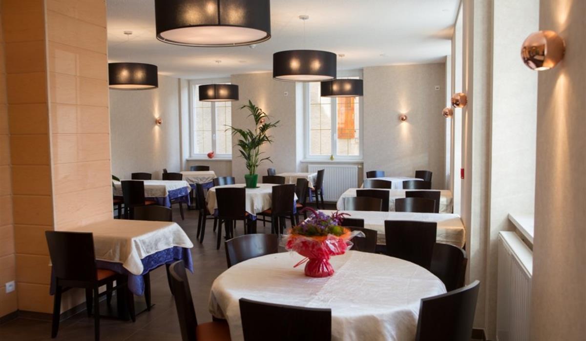 Hôtel - Restaurant Le Soleil d'Or - Salle de Restaurant à ouvrir au 1er mars 2013.