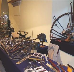 Exhibition of military and hunting antics - image