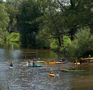Ontdeck de laaglanden van de Bruche rivier met het kayak - image