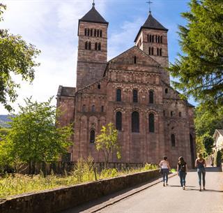 Abbaye de Murbach, Crédit: Pays d'Art et d'Histoire CCRG