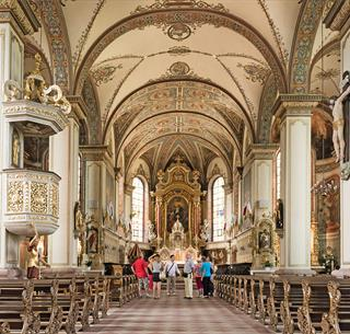 Visite guidée à l'intérieur de la Basilique de Thierenbach © Grégory Tachet