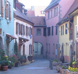 Maisons renaissance à Soultz