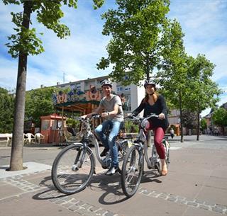 Vélo dans Guebwiller Crédit: Vincent Schneider