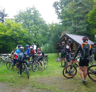 Mountainbiking at Munsteraeckerle ©F.Kruch