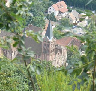 Lautenbach vu depuis le Chaudron du diable Crédit : C. Haenel