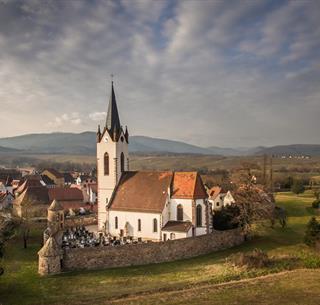 Le cimetière fortifié de Hartmannswiller, Crédit: Vincent Schneider